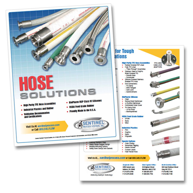 Sentinel Process Systems Hose Flyer